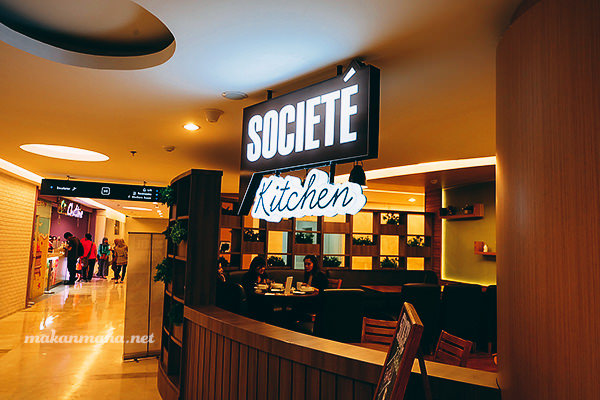 Societe Kitchen, Lippo Mal (Closed) 1