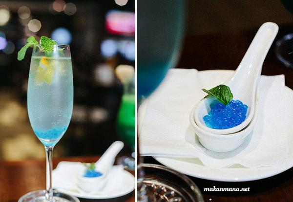 blue caviar cocktail