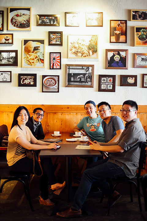 makanmana crew with Howey & William Iskandar