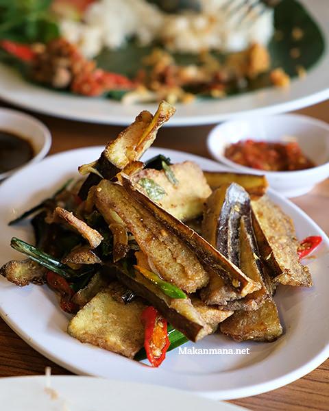 Terong goreng saus tiram (24rb)