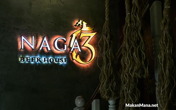 Naga 3 Beer House, Ruko Centre Point (Closed) 1