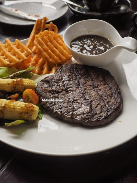 The Blue Cow Steak