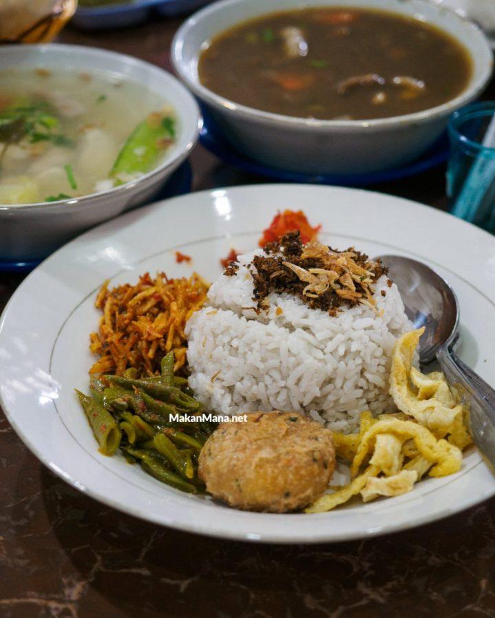 warung sup nasi lemak