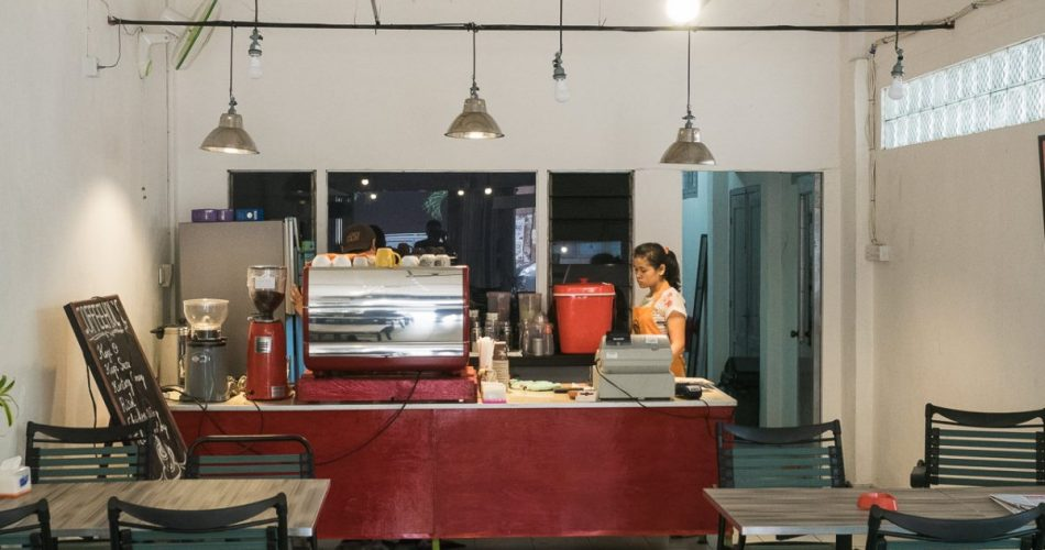 Coffeeholic, boutique coffee shop di pusat kota 1