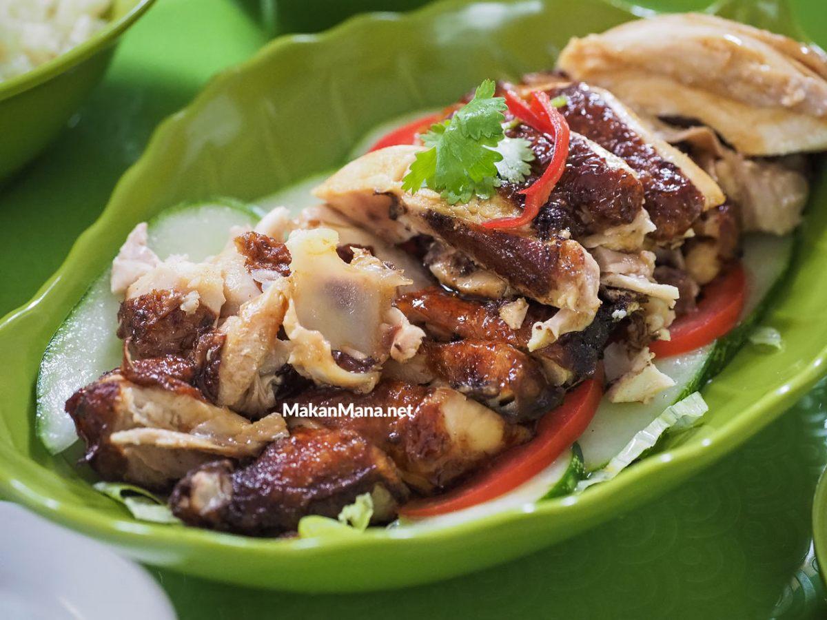 Nasi Ayam Hainan, menu kebanggaan dari Kedai Meneer Yongkie