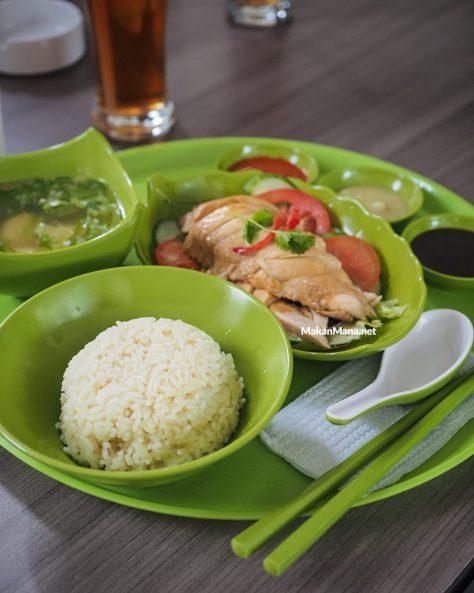 Nasi Ayam Hainan (35rb)