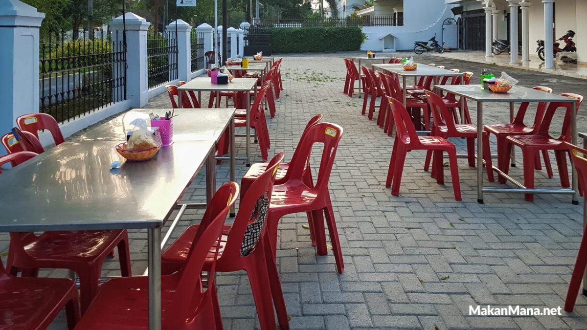 Outdoor Seating Nyonya House