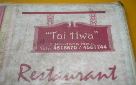 menu tai hwa