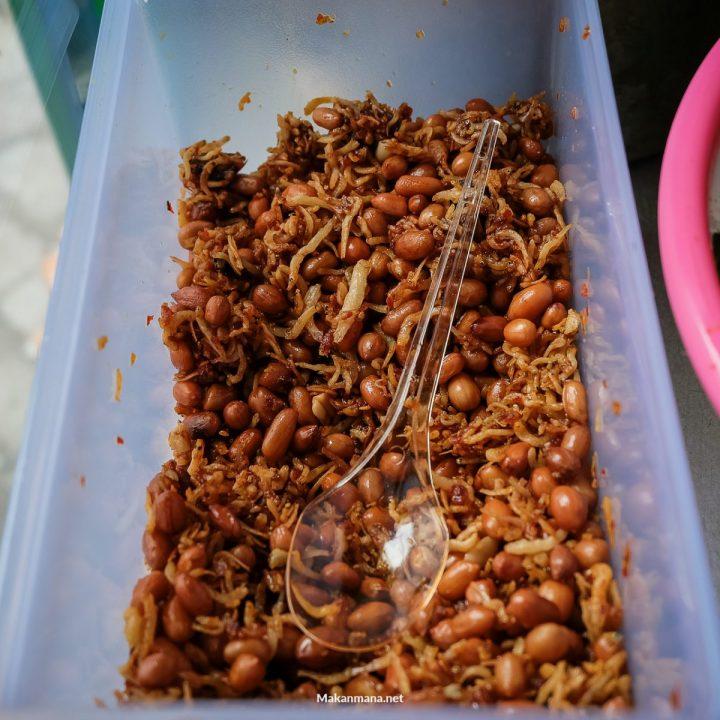 Teri Kacang Nasi Bali