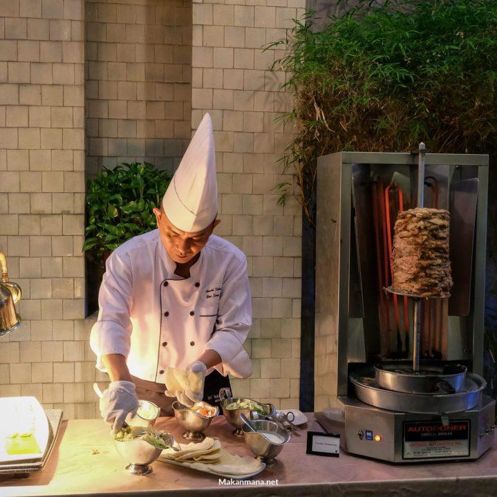 JW Marriott Shawarma