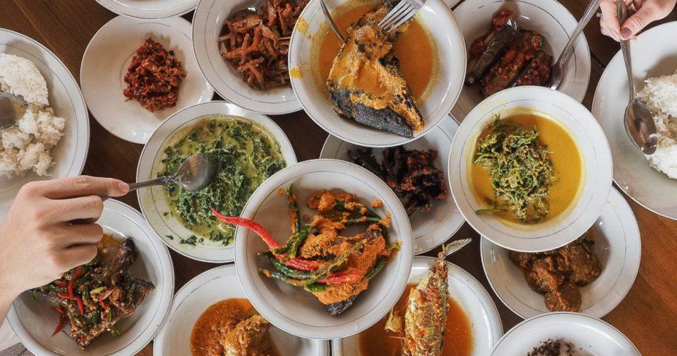 Rumah Makan Padang Lawas, hidangan khas Mandailing 1