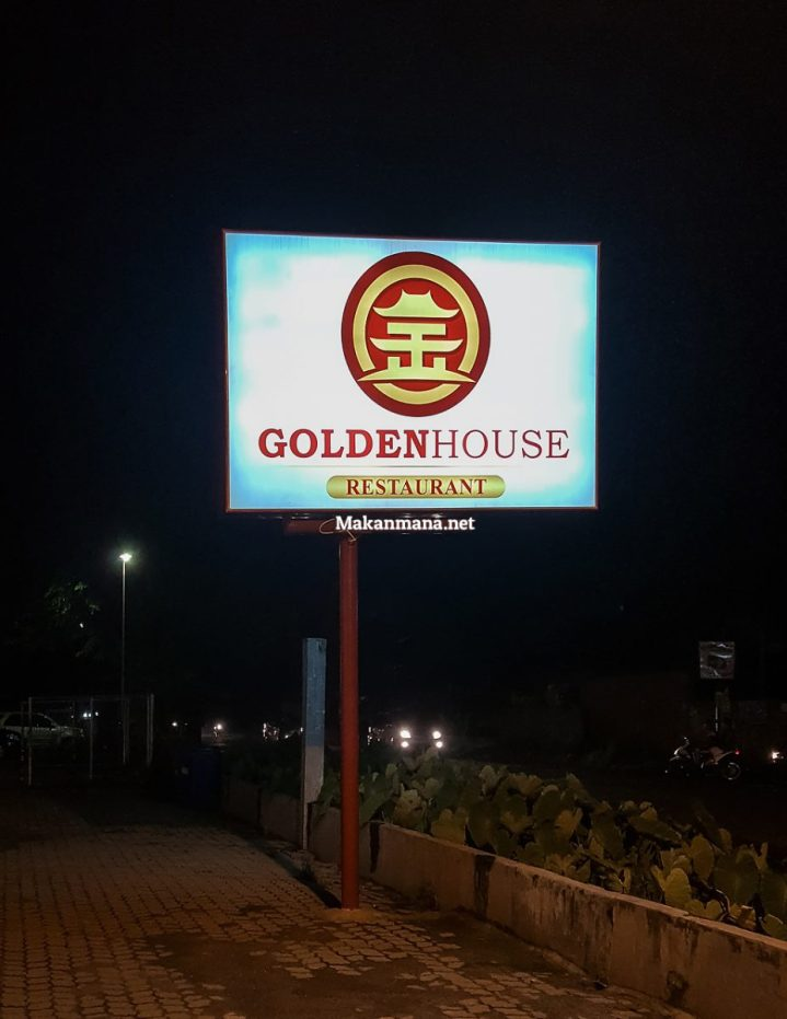 Golden House, a house where delicious food is served. 2