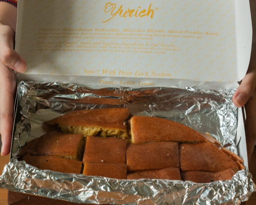 Martabak Yurich dan Kebab House, konon pelopor martabak Gulung & Hitam 10
