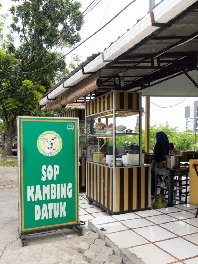 Just Another Good Spot in Sunggal, Sup Kambing Datuk 1