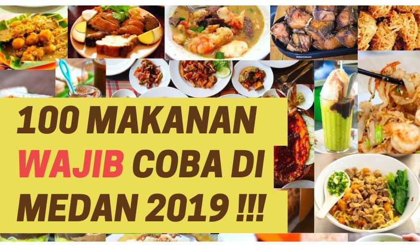 100 Kuliner Medan Wajib Coba 2019, Semuanya ENAK! 1