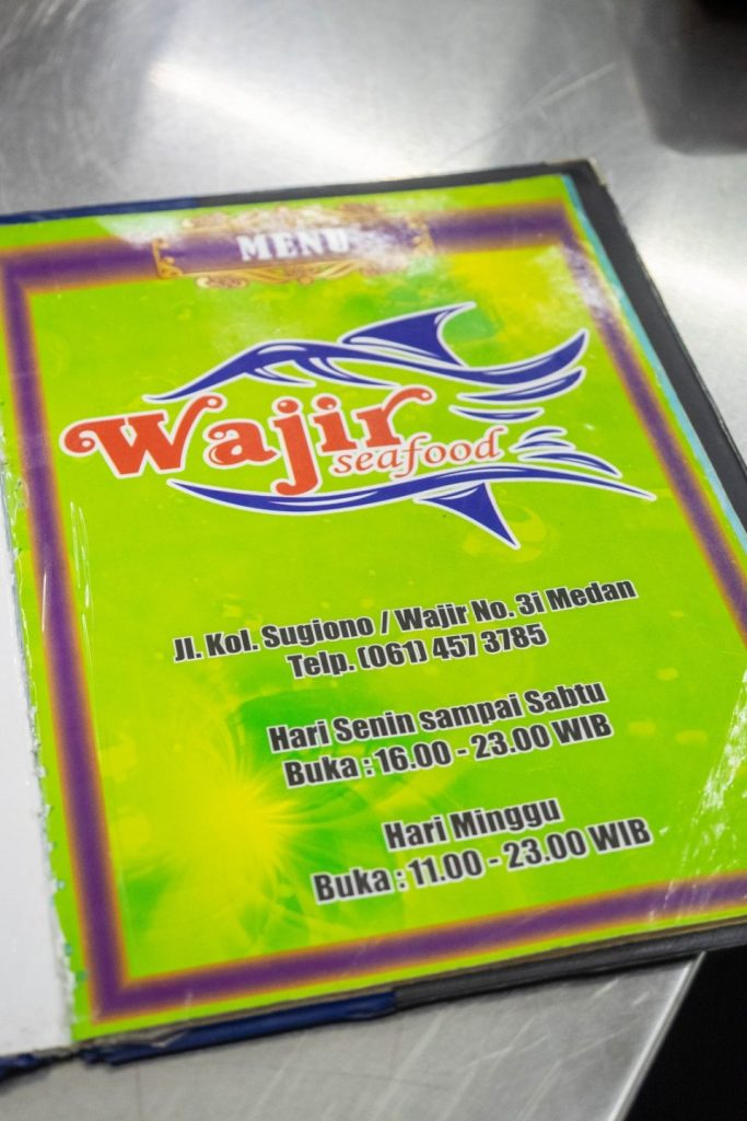 menu wajir seafood kuliner medan