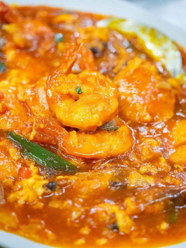 udang saus pedas wajir seafood kuliner medan