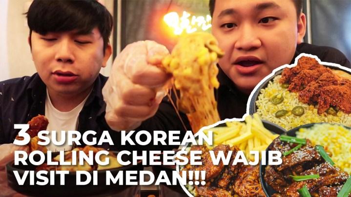 3 Korean Rolling Cheese Paling Best di Kota Medan, Yang Nomor 3 Pake Babi! 2