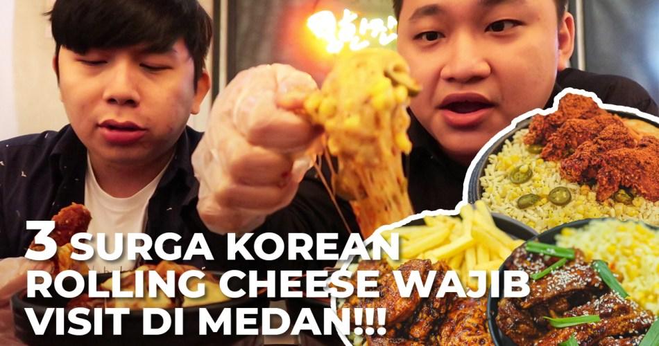 3 Korean Rolling Cheese Paling Best di Kota Medan, Yang Nomor 3 Pake Babi! 1