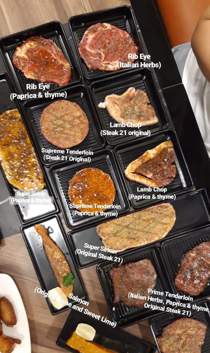 ALL YOU CAN EAT! Steak 21 Buffet di Deli Park Podomoro Medan 10