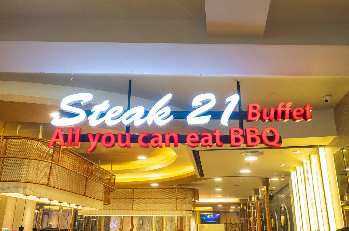 ALL YOU CAN EAT! Steak 21 Buffet di Deli Park Podomoro Medan