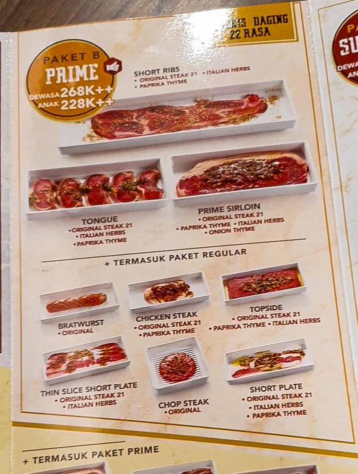 ALL YOU CAN EAT! Steak 21 Buffet di Deli Park Podomoro Medan 6