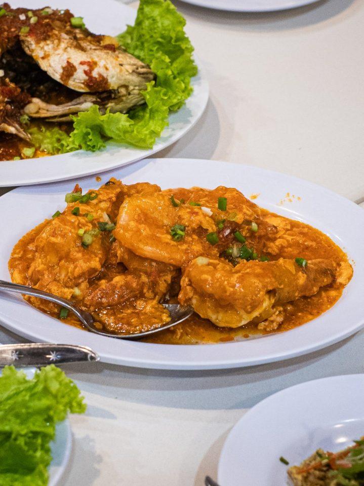 Renovasi RM AdoeA Seafood Restaurant yang Mengejutkan di awal tahun 2020.