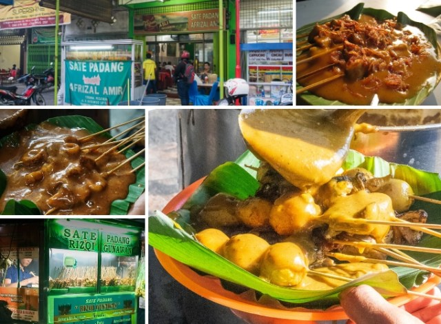 Featured Sate Padang in Medan