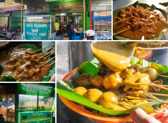 Featured Sate Padang in Medan