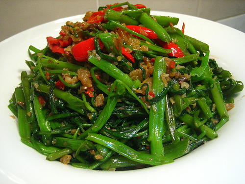 kangkong with bagoong