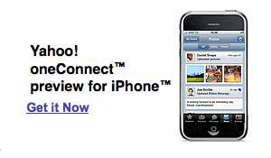 Yahoo oneConnect