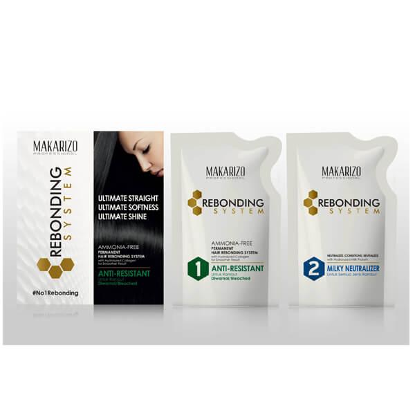 Rebonding System Anti Resistant & Milky Pouch 125 ml