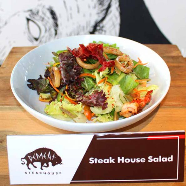 DeMeat Steak House & NOX Coffee Boutique -Steak House Salad -35 k