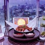 Enjoy sunset time on 20th The Society Sky Dining & Bar at Melia Makassar