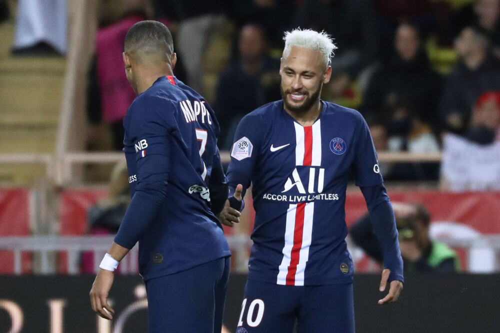Makaveli Bet - Neymar and Kylian Mbappe Monaco vs PSG Ligue 1 2020