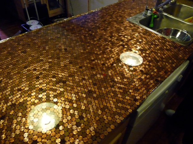 Install A Penny Countertop In Your Kitchen Make