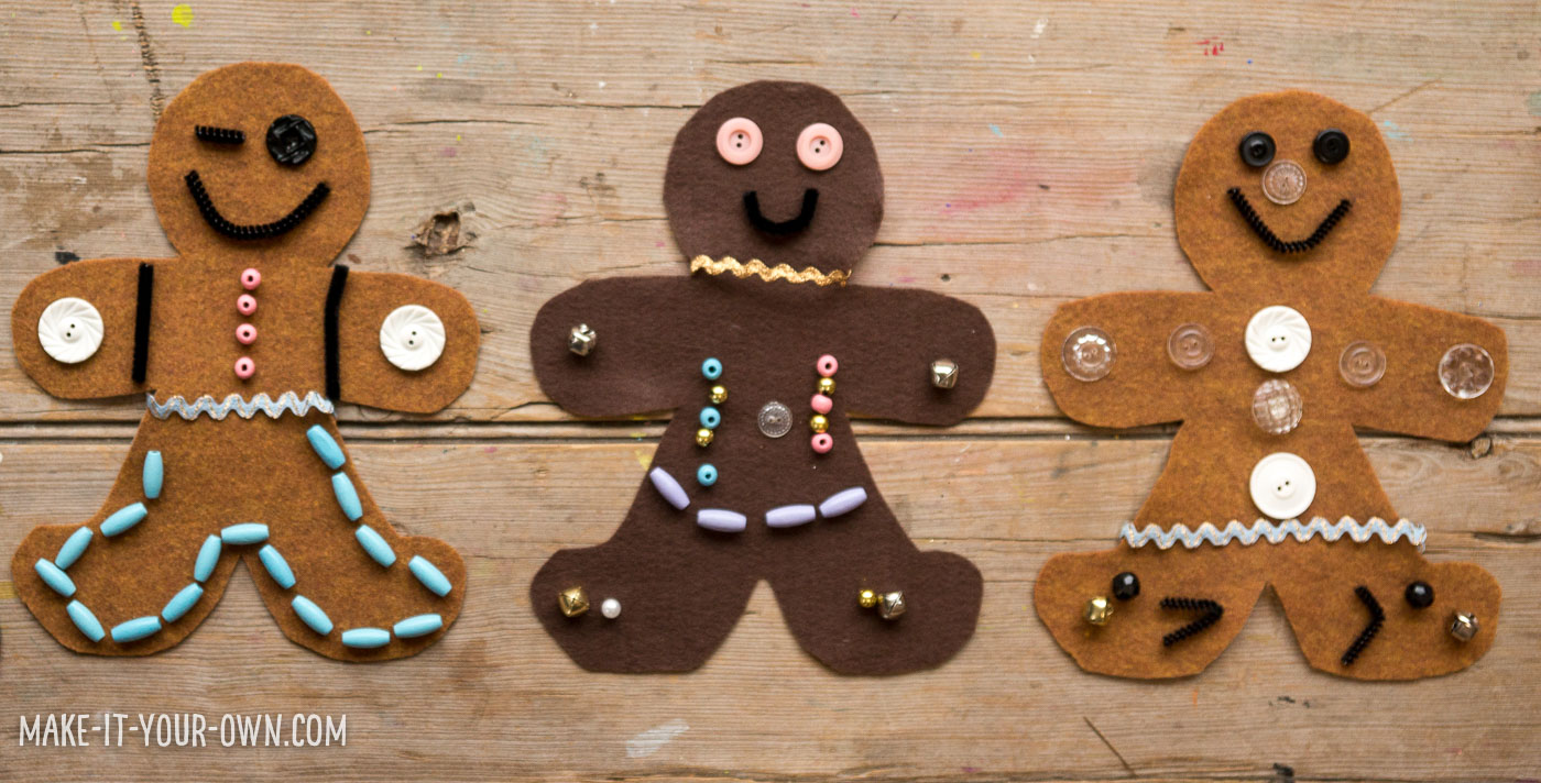 Design A Gingerbread Person