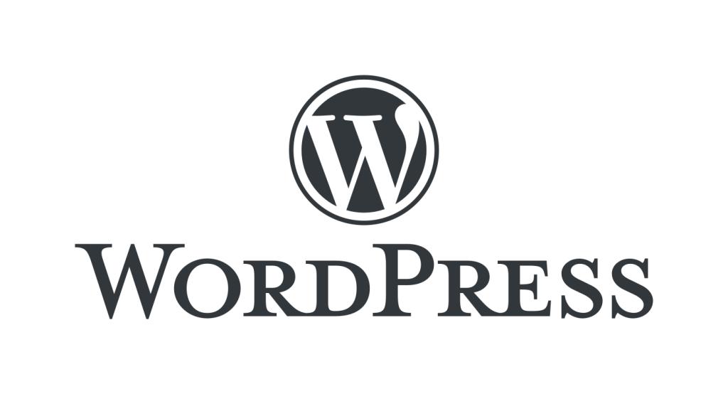WordPress Logo stacked