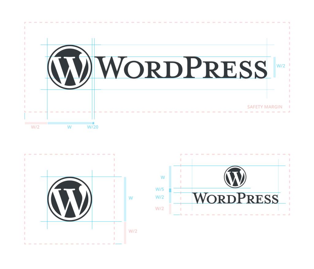 WordPress Logo Metrics