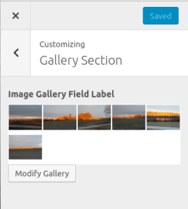 Sample Image Gallery Implementation