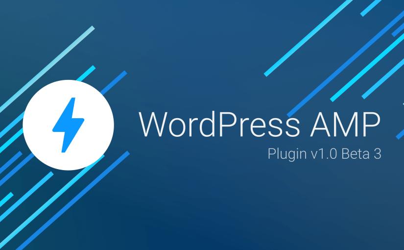 AMP Plugin Release v1.0-beta3