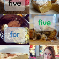 Five cakes for five occasions