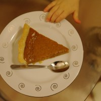 Autumn love #3: the pie's the thing