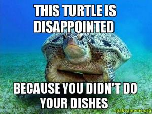 Disappointed Turtle Meme