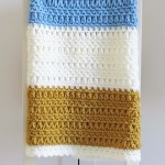 One Day Crochet Blanket Free Pattern Make Do Crew