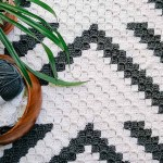 Graphic Modern C2c Crochet Blanket Free Pattern Make Do Crew