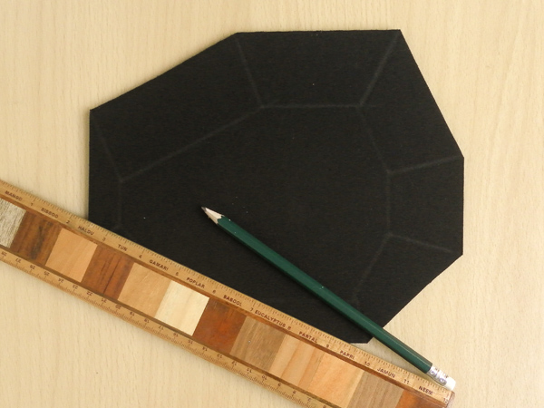 DIY Geometric Mouse Mat Tutorial
