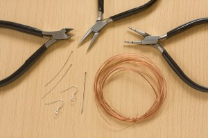 DIY Barbed Wire Earrings Tutorial
