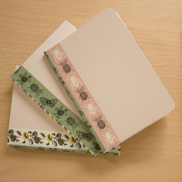 simple bookbinding notebook diy make and fable