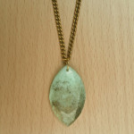 Marquise mint gold necklace (1) copy